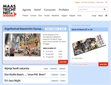 Tablet Preview of maastrichtnet.nl